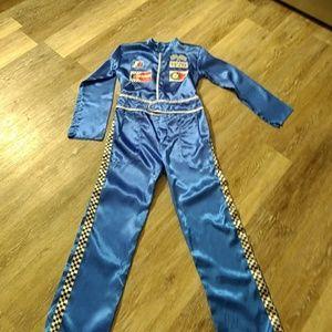 Boys size 10-12 racing team Halloween costume